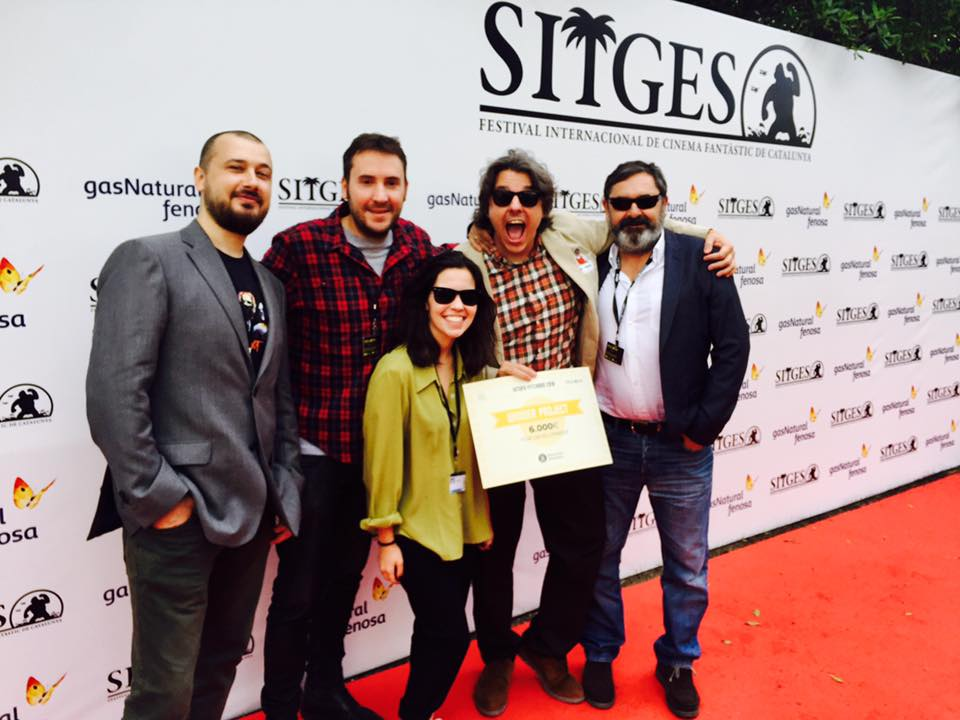 Elderly produced by Montreux Entertainment, wins the prize for best film project in the Sitges Festival 2016
